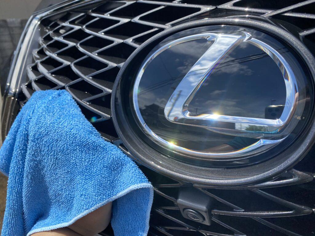 レクサスRXの洗車について